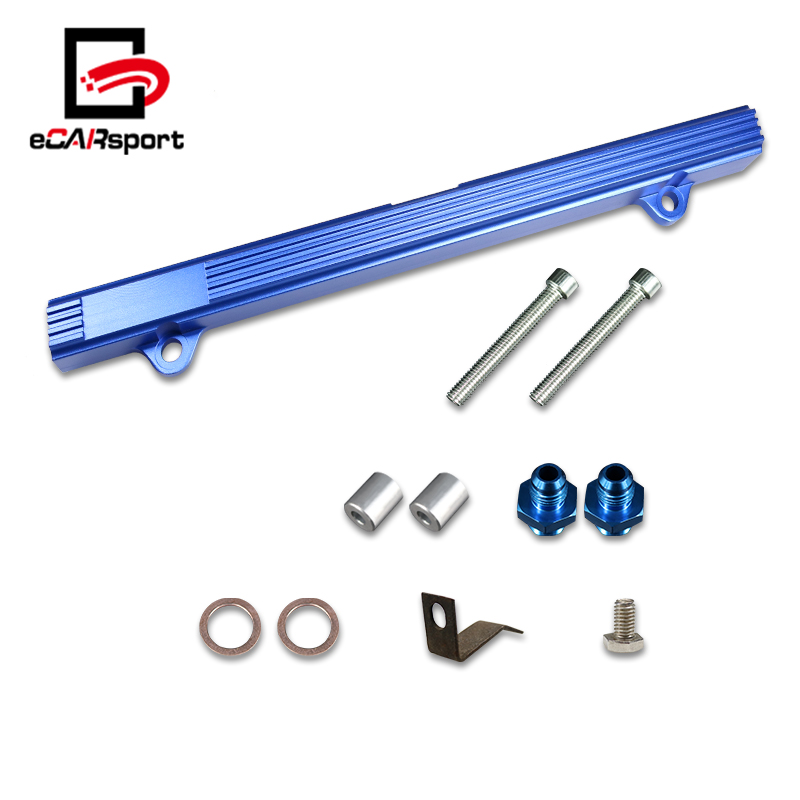eCARsport New High Flow Top Feed Fuel Rail Kit For Mitsubishi Lancer Evolution EVO 4-9
