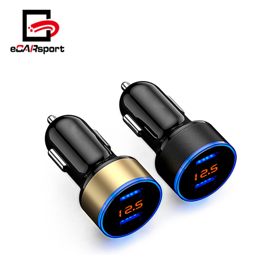 eCARsport Dual Usb Phone Car Charger For Iphone