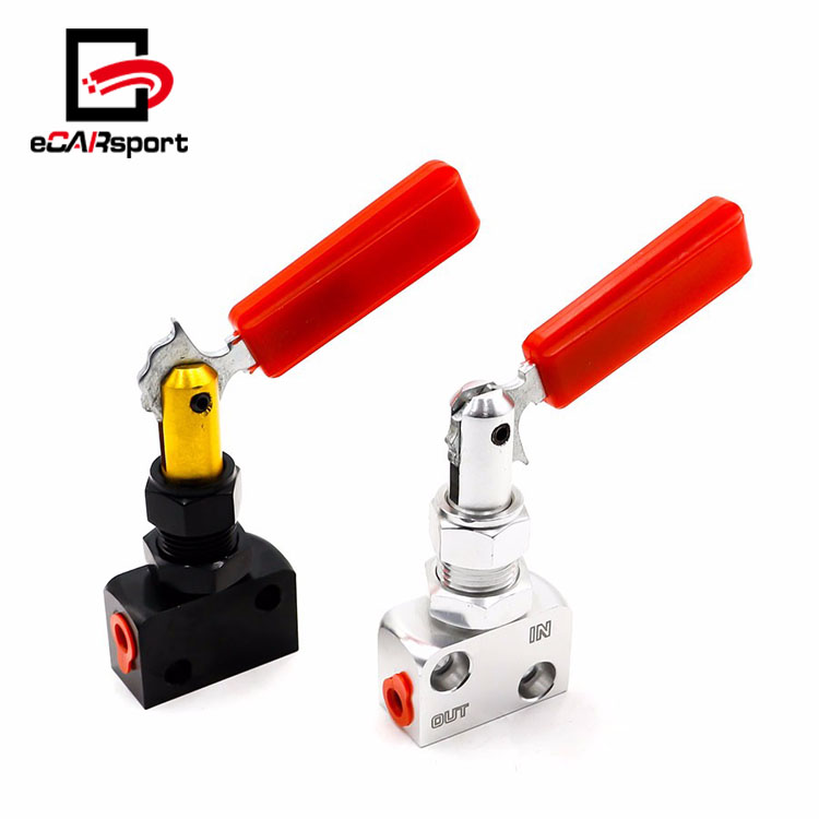 eCARsport Brake Proportion Valve Adjustable Prop Brake Bias Adjuster Racing Car Lever Type