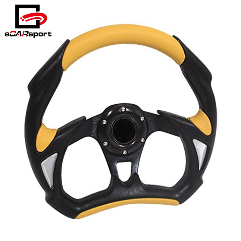 Universal Custom 320MM Car Racing Battle Steering Wheel For BMW