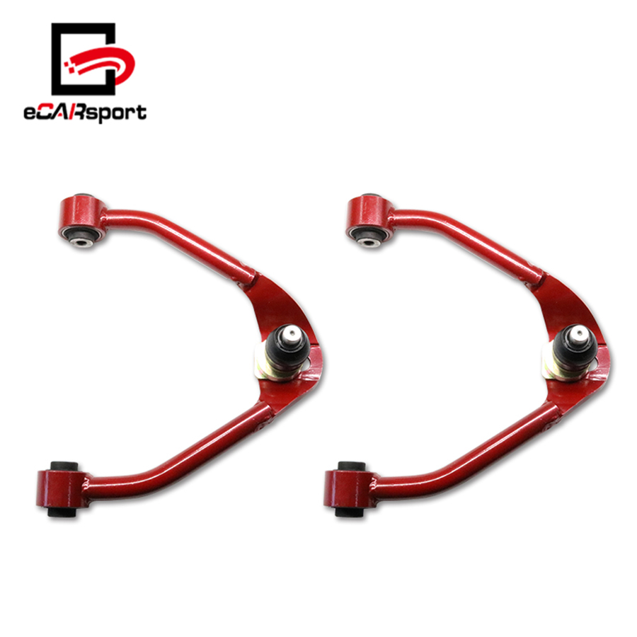 eCARsport Red Front Camber Arm Kit For Nissan 350Z